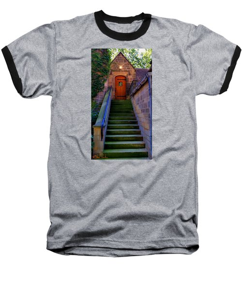 Baseball T-Shirt featuring the photograph Edsel Ford Mansion by Michael Rucker