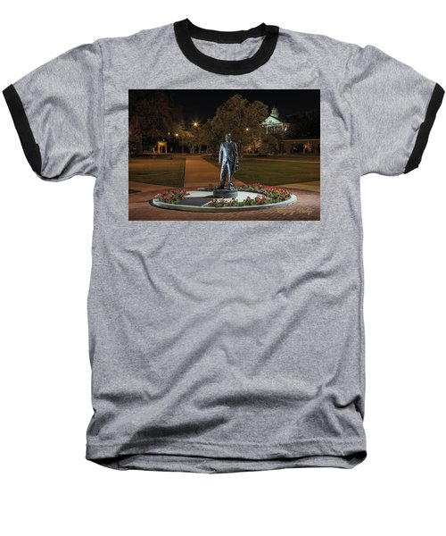Edwin Stephens At Night Baseball T-Shirt by Gregory Daley  PPSA
