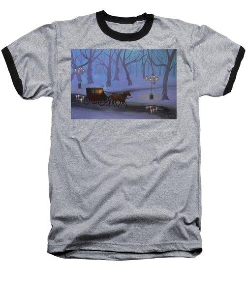 Eerie Evening Baseball T-Shirt