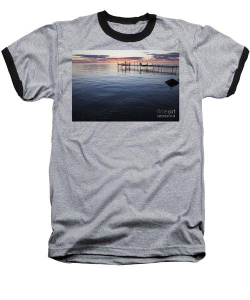 Egg Harbor Sunset Baseball T-Shirt