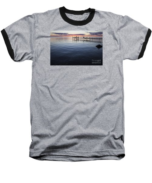 Egg Harbor Sunset Baseball T-Shirt