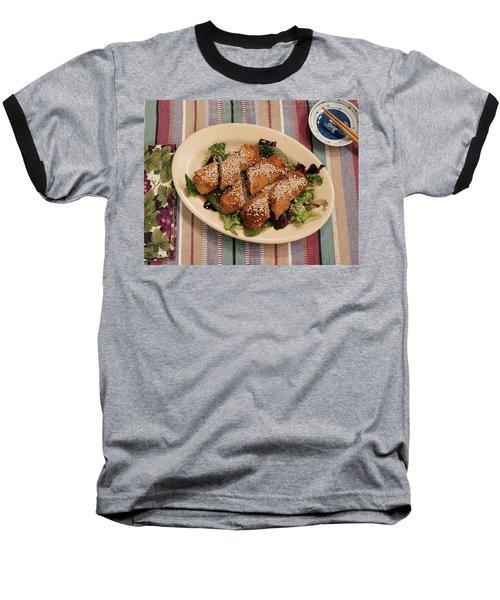 Egg Rolls And Sesame Baseball T-Shirt