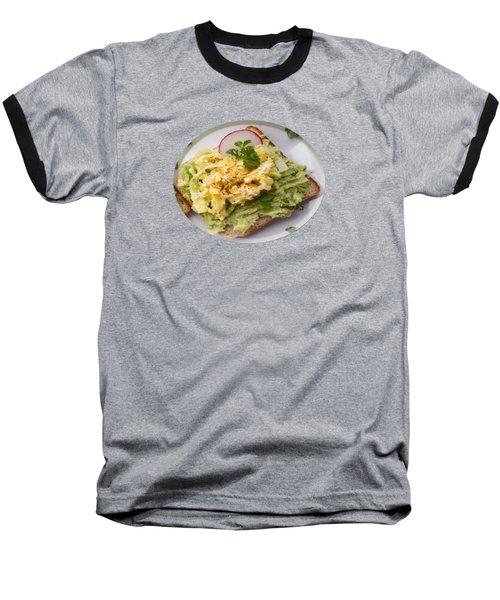Egg Sandwich Baseball T-Shirt
