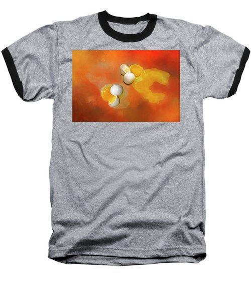 Baseball T-Shirt featuring the photograph Eggs by Carolyn Marshall
