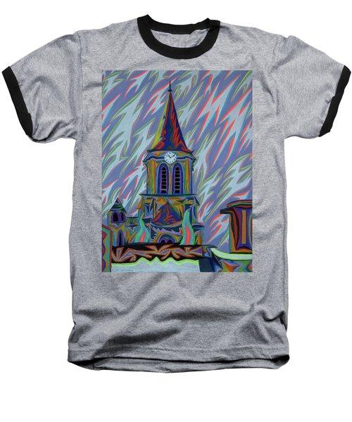 Eglise Onze - Onze Baseball T-Shirt by Robert SORENSEN