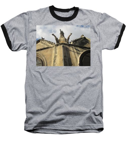 Baseball T-Shirt featuring the photograph Eglise Saint-severin, Paris by Christopher Kirby