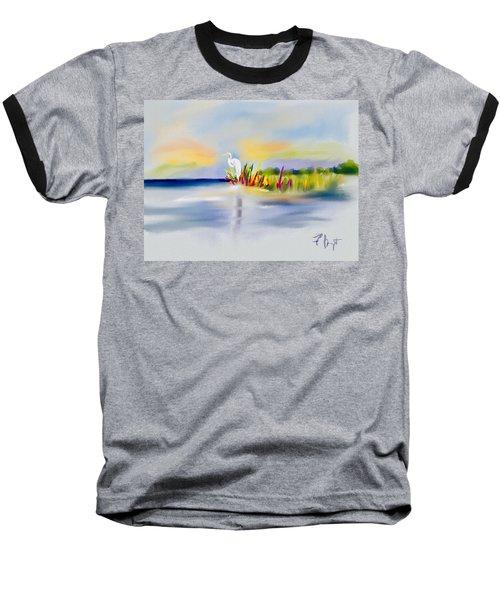 Egret Bliss Baseball T-Shirt