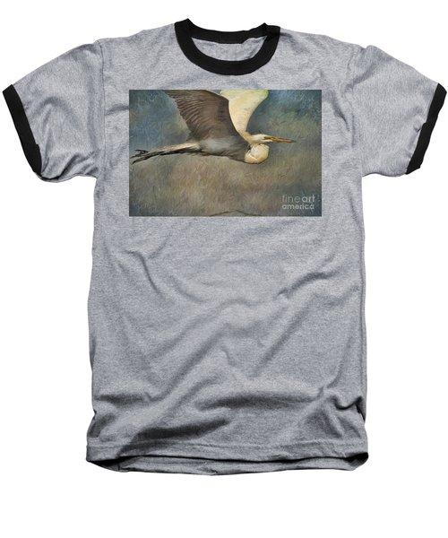 Egret Journey Baseball T-Shirt