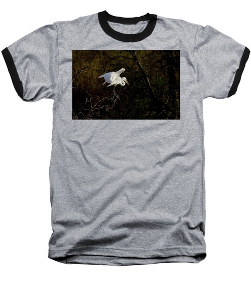 Egret Baseball T-Shirt