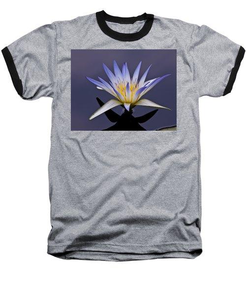 Egyptian Lotus Baseball T-Shirt