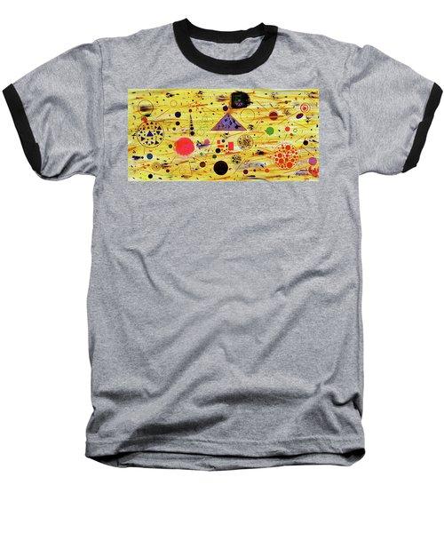 Egyptian Sunrise Baseball T-Shirt