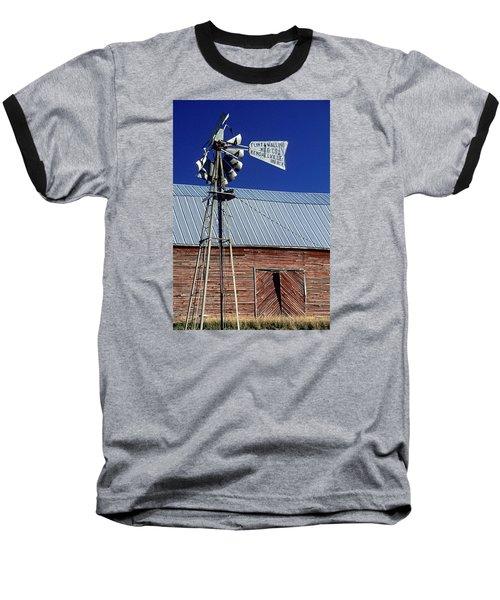 Eid Road Windmill Baseball T-Shirt