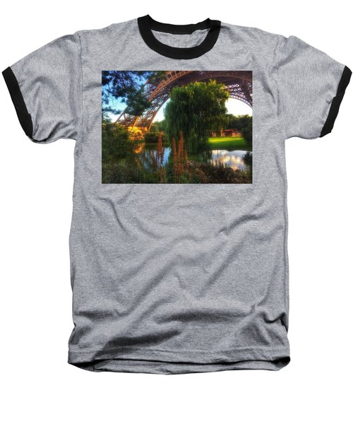 Baseball T-Shirt featuring the photograph Eiffel by Marty Cobcroft