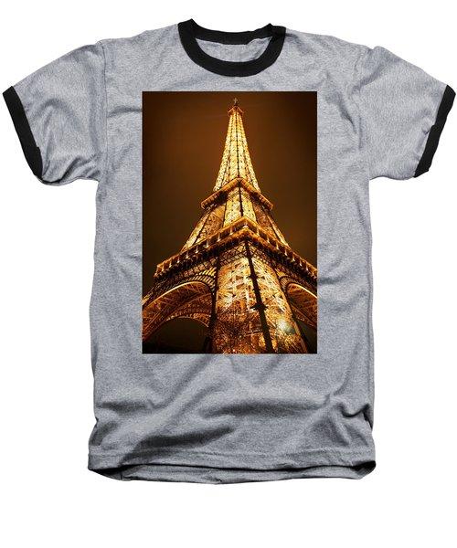 Eiffel Baseball T-Shirt