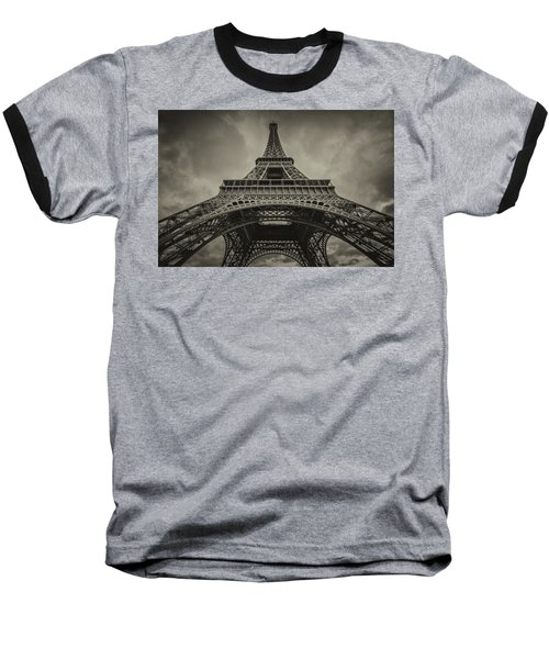 Eiffel Tower 1 Baseball T-Shirt