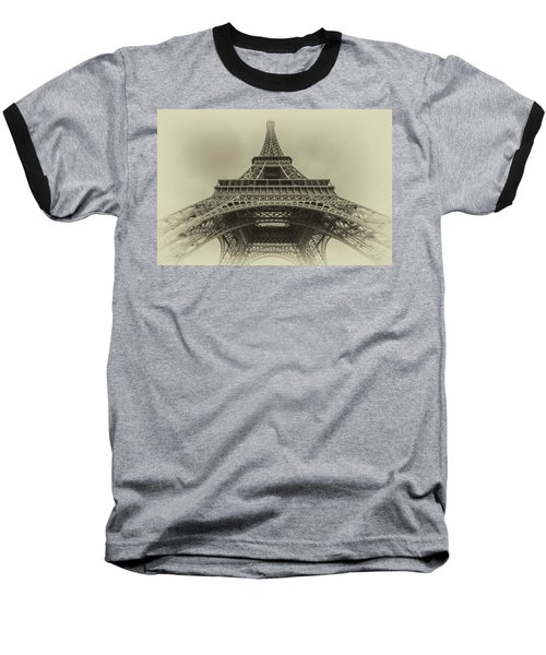 Eiffel Tower 2 Baseball T-Shirt