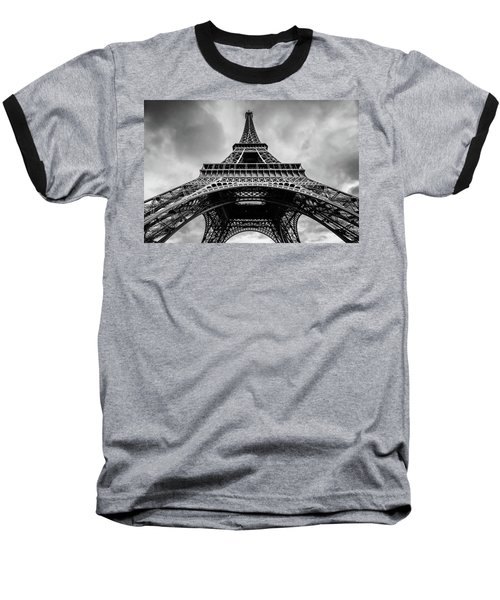 Eiffel Tower 4 Baseball T-Shirt