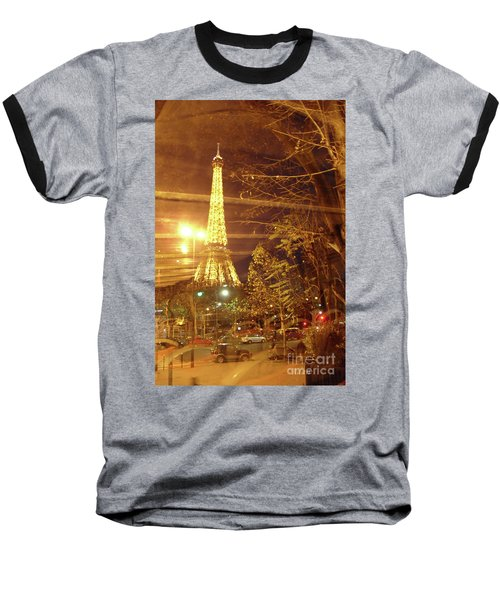 Eiffel Tower By Bus Tour Baseball T-Shirt