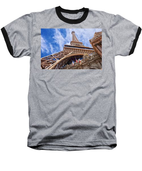 Eiffel Tower Las Vegas  Baseball T-Shirt