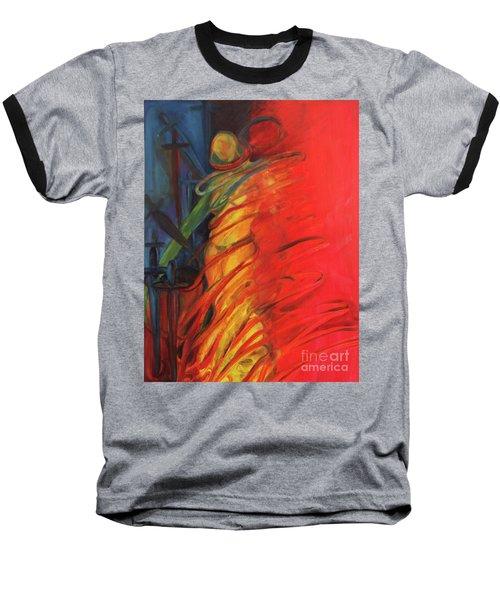 Eight Of Swords Baseball T-Shirt by Daun Soden-Greene