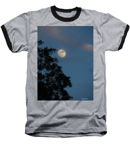 Baseball T-Shirt featuring the photograph Eight Thirty Two Pm by Greg Patzer