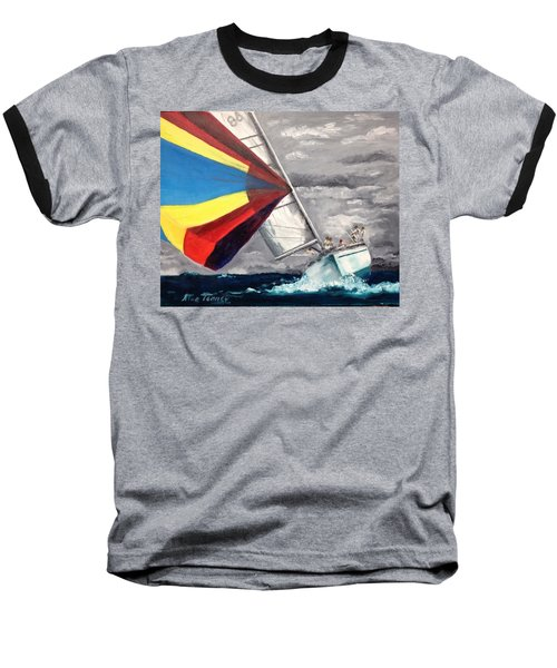 Baseball T-Shirt featuring the painting Eighty-six by Stan Tenney