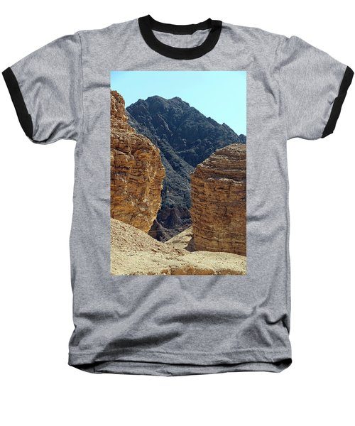Baseball T-Shirt featuring the photograph Eilat-israel by Denise Moore
