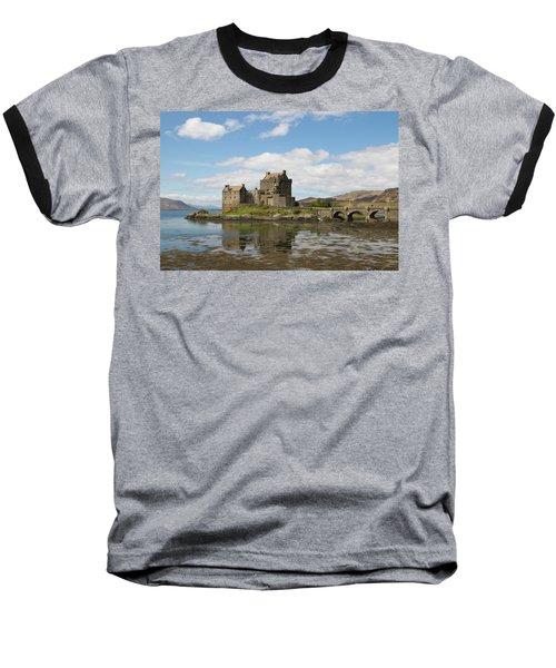 Eilean Donan Castle - Scotland Baseball T-Shirt