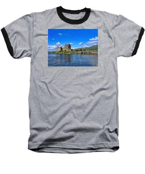 Eilean Donan Castle - Sct671252 Baseball T-Shirt