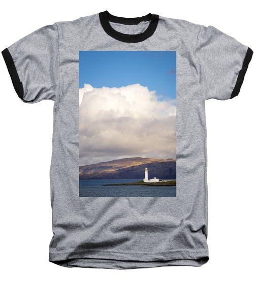 Eilean Musdile Lighthouse On Lismore Baseball T-Shirt