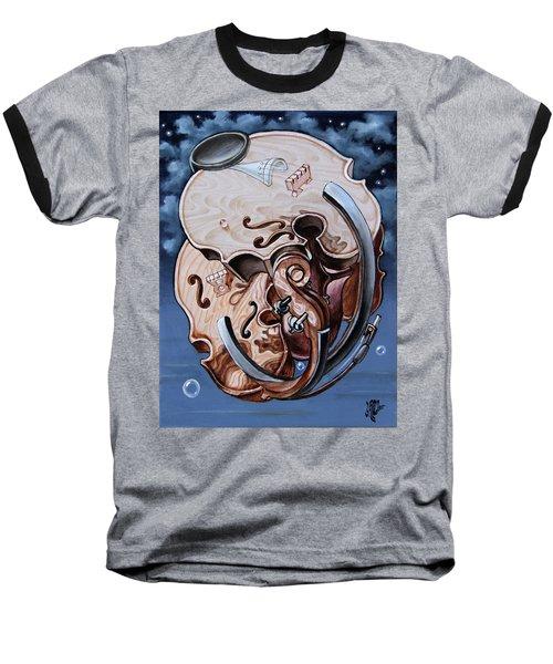 Einstein's Violin. Op.2763 Baseball T-Shirt