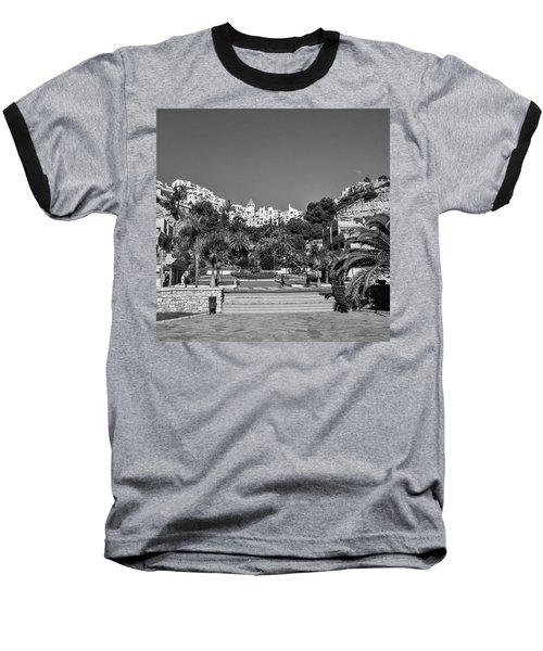 El Capistrano, Nerja Baseball T-Shirt by John Edwards