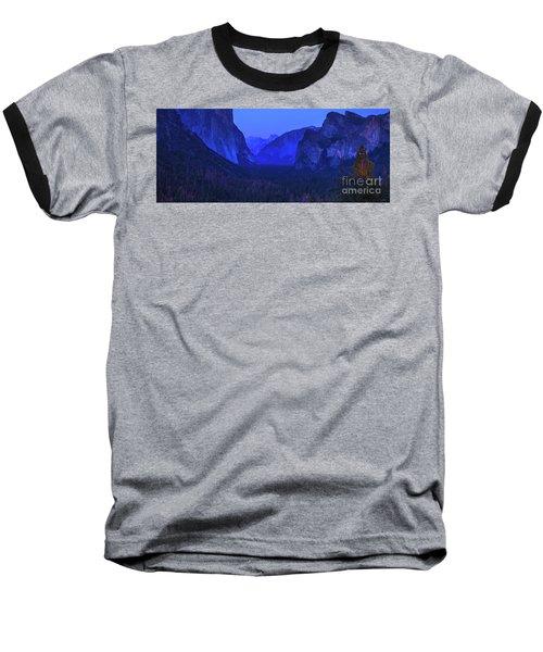 El Capitan Blue Hour Baseball T-Shirt
