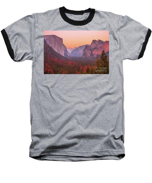 El Capitan Golden Hour Baseball T-Shirt