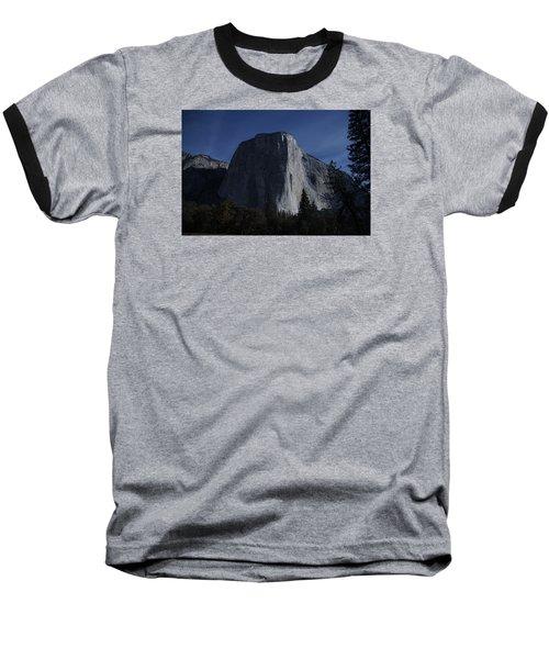 El Capitan In Moonlight Baseball T-Shirt
