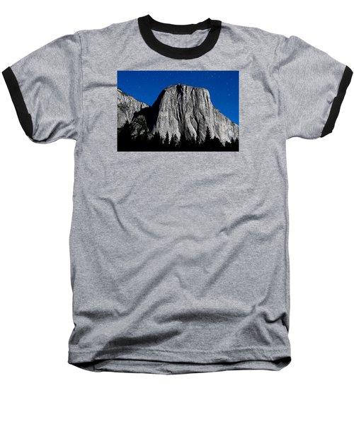 El Capitan Under A Full Moon Baseball T-Shirt