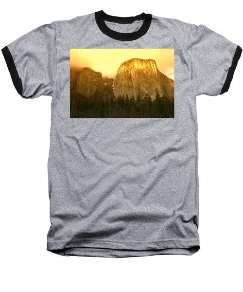 El Capitan Yosemite Valley Baseball T-Shirt