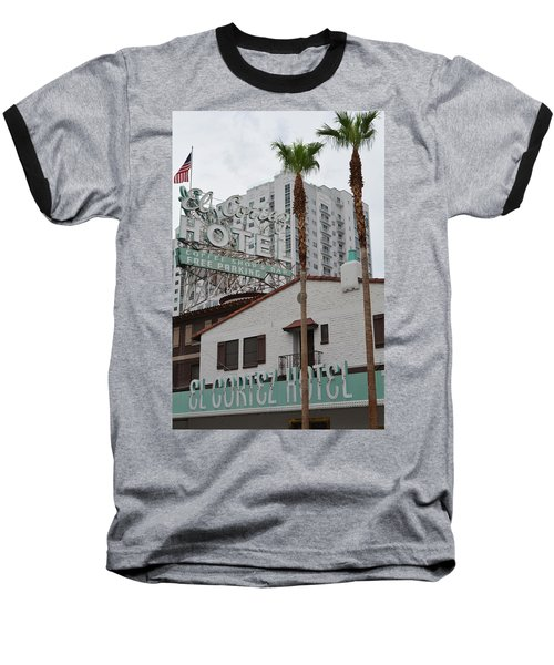 El Cortez Hotel Las Vegas Baseball T-Shirt