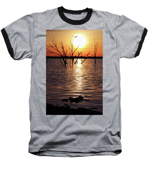 El Dorado Lake Morning Baseball T-Shirt