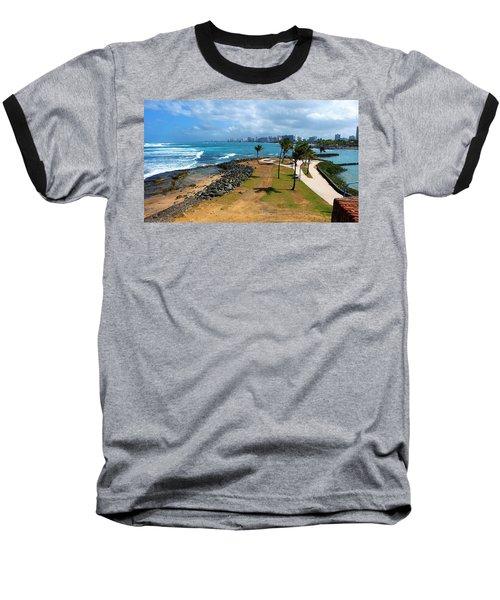El Escambron Baseball T-Shirt by Ricardo J Ruiz de Porras
