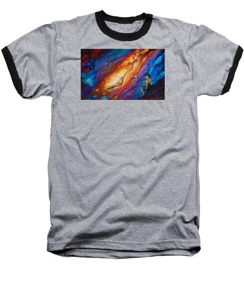El Flautista Baseball T-Shirt