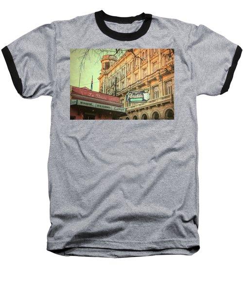 El Floridita Havana Cuba Baseball T-Shirt