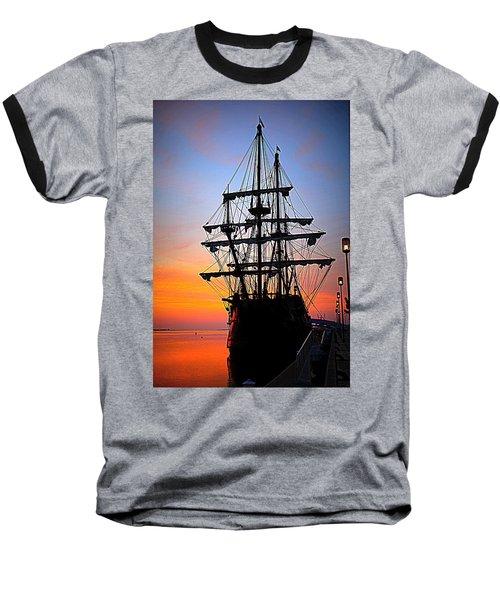 El Galeon At Sunrise Baseball T-Shirt