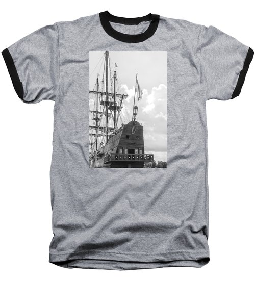 Baseball T-Shirt featuring the photograph El Galeon by Bob Decker