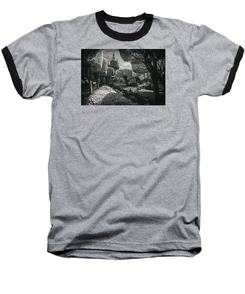 Baseball T-Shirt featuring the photograph el Jardin by Sean Foster