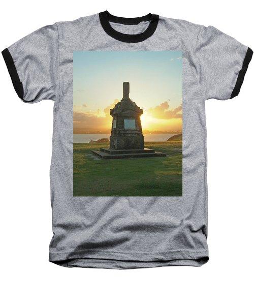 El Morro San Juan Puerto Rico Baseball T-Shirt