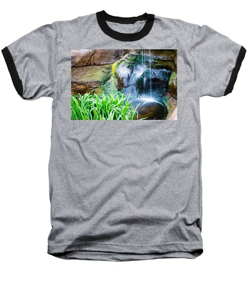 El Paso Zoo Waterfall Long Exposure Baseball T-Shirt