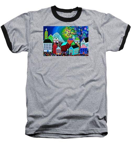 Mi Pueblo Divino Baseball T-Shirt