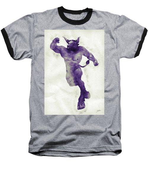 El Torito Guapo Baseball T-Shirt by Joaquin Abella