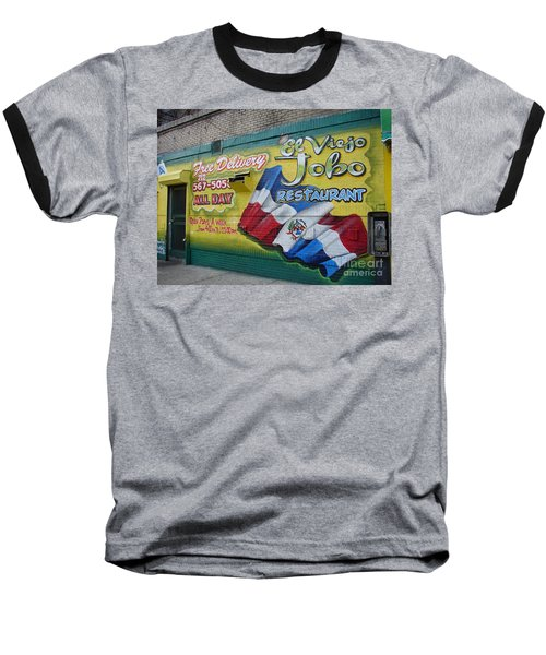 El Viejo Jobo  Baseball T-Shirt by Cole Thompson